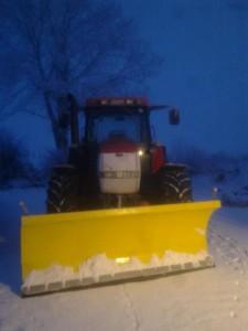Snow Ploughing in Cavan